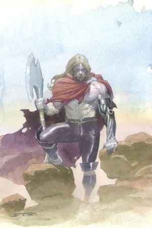 """Unworthy Thor"" wielding Jarnbjorn"