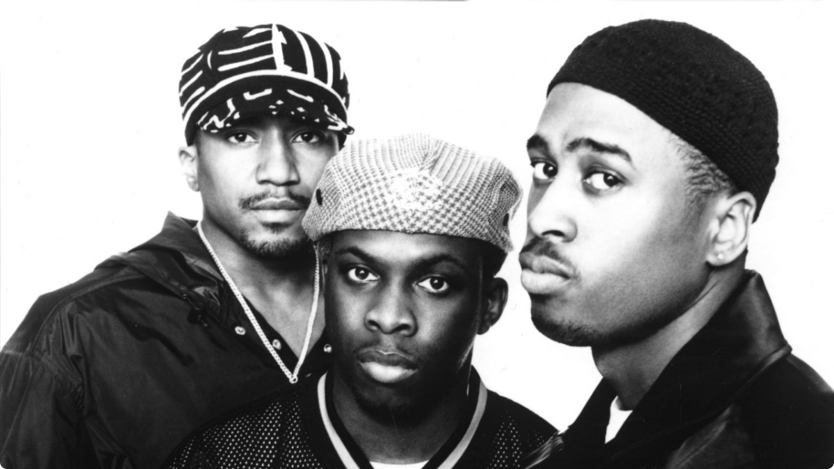 A Tribe Called Quest in their younger days.